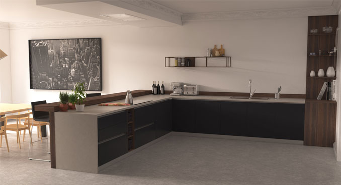 SAITRA KITCHEN FURNITURE